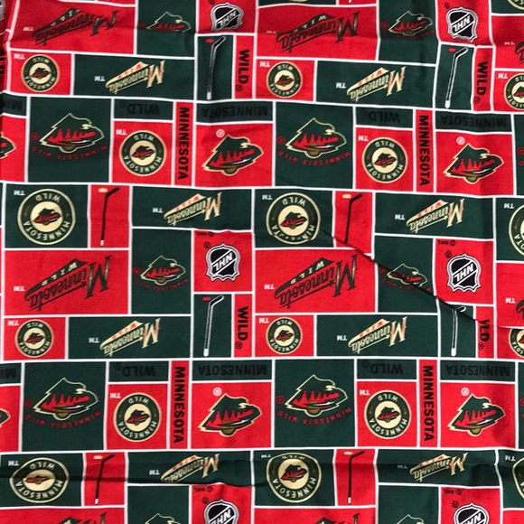 MN Wild 100% cotton fabric masks crafters